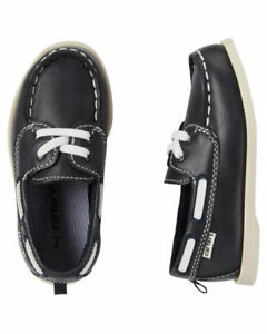 Carter's Toddler Boy's Bauk Blue Navy Loafers Boat Shoes Size: 10 New NWT