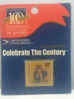Vtg I want You Celebrate The Century Uncle Sam Collectible USPS Tack Pin WWI