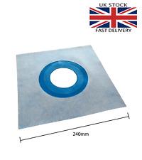 24cm AQUA BUILD Elastic Waterproof Sealing Sleeve Membrane Drain Collar 8-11cm Ø