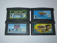 Nintendo Game Boy Advance GBA Lot of 4 Games
