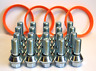 20 X WOBBLE WHEEL BOLTS WOBBLY BOLT KIT & SPIGOT RINGS FIT BMW WHEELS TO VIVARO