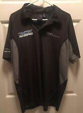 Audi Polo Shirt Mens Size L/ SLC Racing