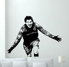 Lionel Messi Wall Decal Football Vinyl Sticker Kids Soccer Art Decor Mural 14nnn