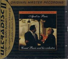 Basie, Count April in Paris MFSL Gold CD Neu OVP Sealed