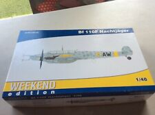 model kit Bf 110F Nachtjager weekend edition   by Eduard     1:48