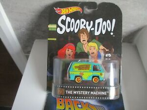 HOTWHEELS RETRO 2015 SCOOBY DOO THE MYSTERY MACHINE ALLOYS RUBBER TYRES,,