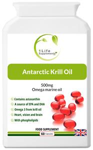 Antarctic Krill Oil Omega 3