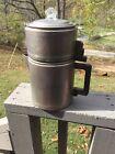 Vintage Mirro aluminum 2 quart 8 cup stove top coffee pot
