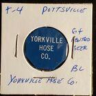 Yorkville Hose Co Pottsville PA good for 1 bottled beer in trade token♡♤gft766◇♧