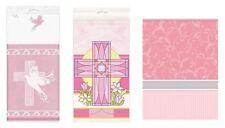 Decoración y menaje Amscan color principal rosa para mesas de fiesta