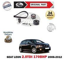 Für Seat Leon 2.0 Tdi Bmn 170BHP 2006-2012 Neu Steuerriemen Riemenspanner Set