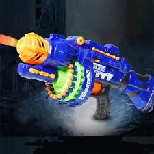 Rapid Fire Machine Gun Rifle Blaster Toy Gun Soft Bullets Darts Kids Style