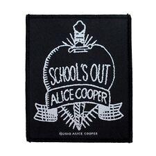 Alice Cooper School's Out Patch Album Single Artwork Hard Rock Sew On Applique