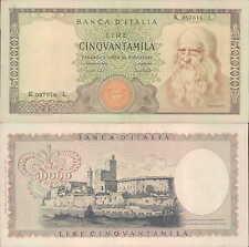 50000 lire 19/07/1970  Leonardo