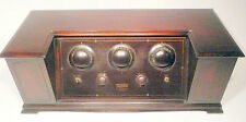 """vintage* MUSIC MASTER 100-A BATTERY RADIO - UNTESTED w / ALL 5 """"VG"""" TUBES"""