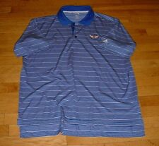 Adidas Clima Lite U.S.Open The Olympic Club Golf Polo Shirt Cobalt Blue XL Nice!