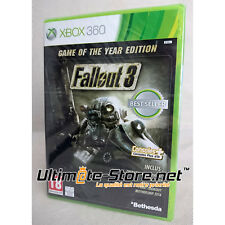 Jeu XBOX 360 - FALLOUT 3 Game of the Year Edition - Neuf Blister Officiel Scellé