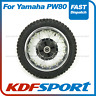 KDF Rear Wheel Assy Rim Spoke Tube Tyre for Yamaha Pw80 Peewee 80 (1983-1999)