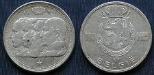 MONETA COIN MONNAIE BELGIO BELGIE BELGIQUE 1951 FRANCS 100 FRENCH LEGEND ARGENTO