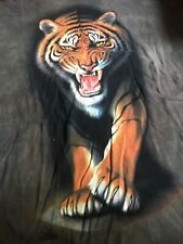 Vintage 1999 The Mountain Fierce Tiger T-Shirt USA Sz XXL Tee