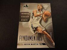 2013-14 Titanium Kevin Martin Fundamentals Insert 107/199 Minnesota Timberwolves