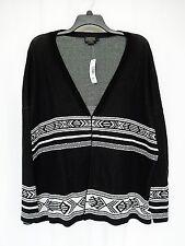 Women's Pendleton Cotton Cardigan Sweater Jacket PL Petite Large $159 New