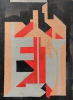Peinture à Identifier Abstraction Géométrique Abstrait Constructivisme v. 1940