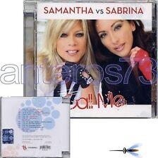"""SAMANTHA FOX vs SABRINA SALERNO """"CALL ME"""" CD ITALY NEW"""