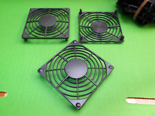 Fan Guard 80mm Black SNAP FIXING Plastic Push on PC Case Guards G80P-P2 x 2 pcs