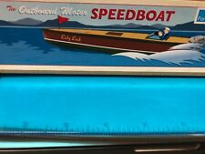 Schylling Tin Speed Boat Toy Collector Series 1996 1997 NIB OUTBOARD MOTOR