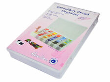 Embroidery Thread Organiser Hemline Floss Box- Large H3003.L
