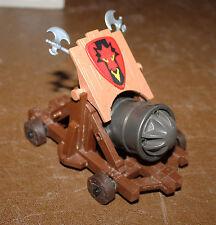 Playmobil véhicule canon sur roue du Dragon Rouge projectile 3320 ref gg