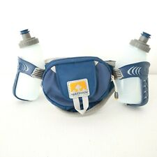 Nathan Hydration Waist Pack Belt, 2 x 10oz. Blue