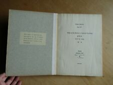 Dream Analysis Part V: Notes on the Seminar, Carl Jung (1st 1930 ed. not signed)
