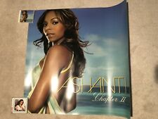 Ashanti Chapter 2 Ii Giant Vinyl Promotional Poster Extremely Rare