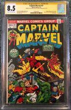 Captain Marvel 27  CGC 8.5 SSx2 (Jim Starlin/Roy Thomas)   5th Thanos appearance