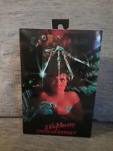 "NECA Nightmare on Elm Street 7"" Scale Action Figure Freddy Kruger Reel Toys"
