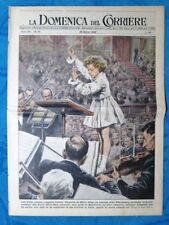 La Domenica del Corriere 29 marzo 1953 Giannella De Marco - Bombay - Pompei