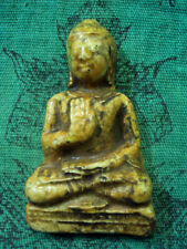 Phra Buddha Porcelain Teaching Dvaravati Ancient Khmer Old Thai Spiritual Amulet