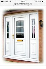 UPVC Front Door With Side Panels From £495.00