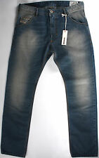 DIESEL Krooley regular Slim fit Jeans 29 x32-NEW-faded Medium blue denim-NWT-