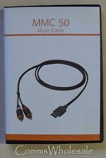 MMC-50 Music Cable for Siemens A51 CX75 S75 SX1 SFG75 A53 A62 M75 etc  - NEW