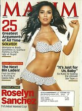 Roselyn Sanchez May 2007 Maxim Magazine Game Plan Without a Trace Rush Hour 2