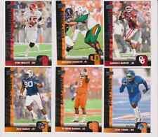 LOT OF 6 2011 UPPER DECK STAR ROOKIE FOOTBALL CARDS - DeMARCO MURRAY