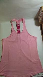 Shoppy Women's Keep Going Workout Sports Tank Top Shirt For Gym Yoga Running L