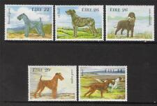 Irlanda MNH 1983 sg558-562 cani irlandesi Set di 5