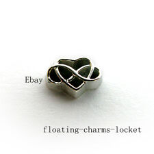 10pcs Endless Love Floating Charms for Memory Locket Free Shipping FC1400