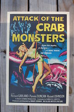 Attack of the Crab Monsters Lobby Card Movie Poster Richard Garland