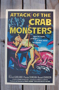 Attack of the Crab Monsters Lobby Card Movie Poster Richard Garland___