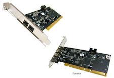 NEW ADS Tech PYRO 1394b PCIR2 FireWire 800 2-Port PCI Card API-811